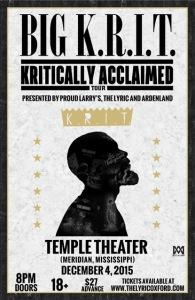 Rapper Big K.R.I.T.