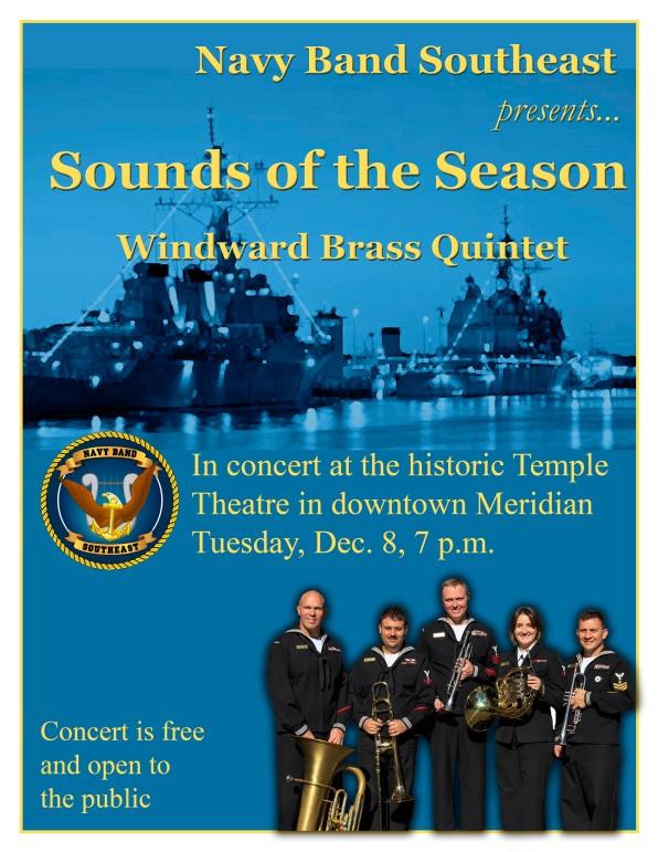 Brass Quintet Holiday Flyer2015