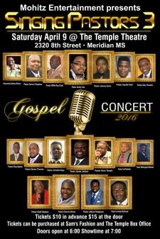 Singing Pastors 3 Gospel Concert