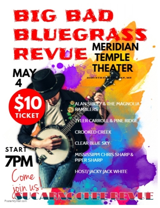 SUCARNOCHEE REVUE MAY 4 - BLUEGRASS