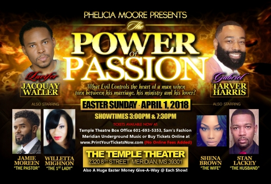 Power of Passion Temple 1Apr18