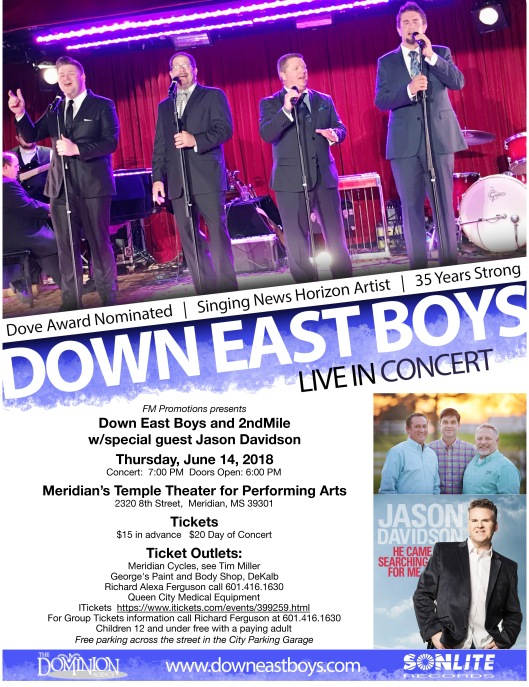 Down East Boys 6-14-18