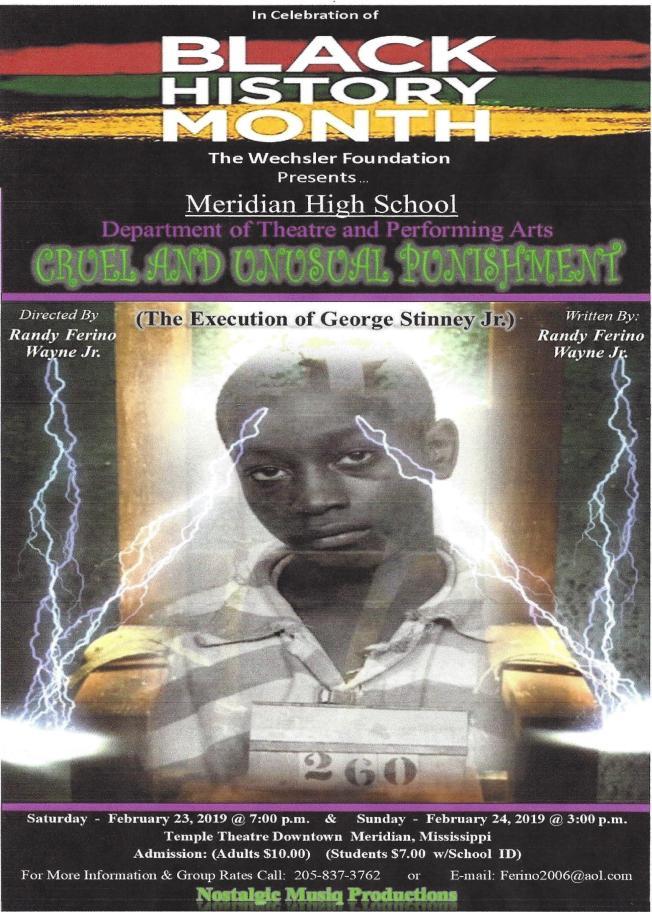 2019 Black History Month Cruel and Unusual Punishment 2